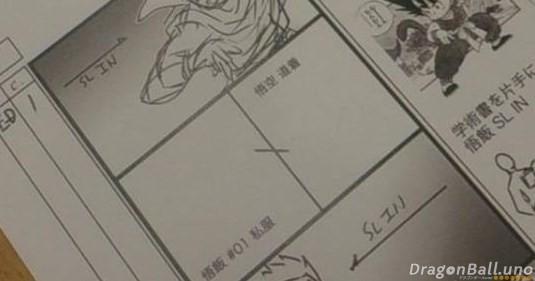 primeros bocetos dragon ball super