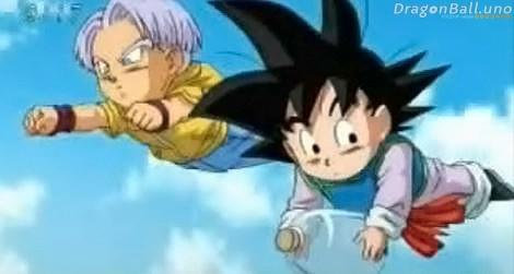 Dragon Ball Super Trunks y Goten
