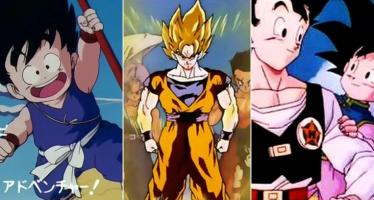 Diferentes canciones de Dragon Ball