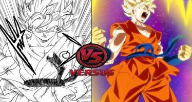 dragon ball super manga vs anime