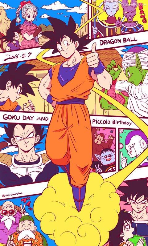 Dragon Ball Z Hashtags: Dragon Ball: 09 De Mayo ¡FELIZ DÍA DE GOKÚ!