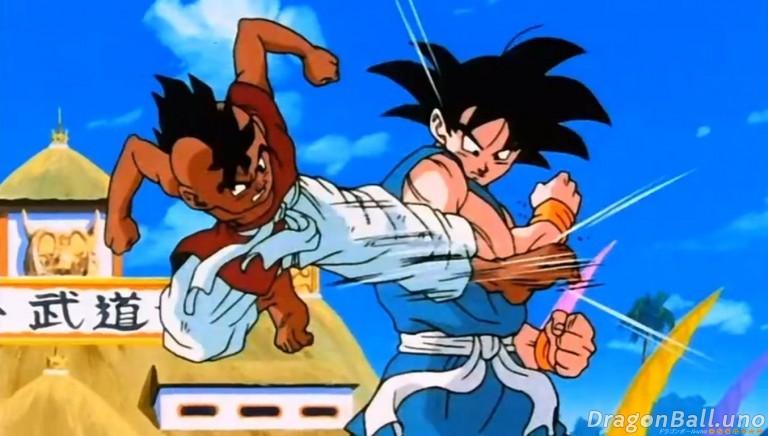 Uub vs Goku