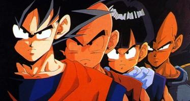 La evolución de algunos personajes principales de Dragon Ball