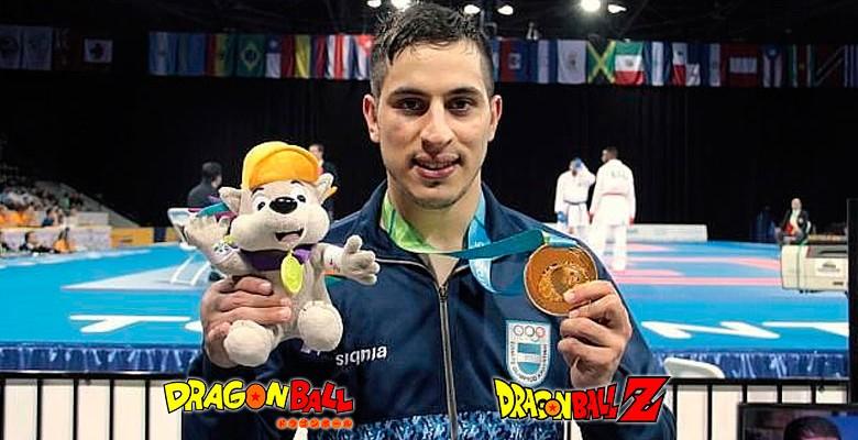 Argentina ganó una medalla de oro gracias a Dragon Ball Z