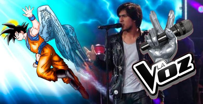 """Dragon Ball Z: Participante de """"La Voz"""" interpretó """"Ángeles fuimos"""""""