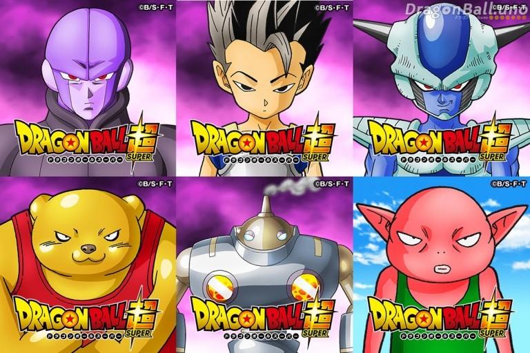nuevos personajes dragon ball super