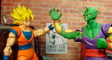 Dragon Ball Z: Stop motion, Gokú vs Picoro
