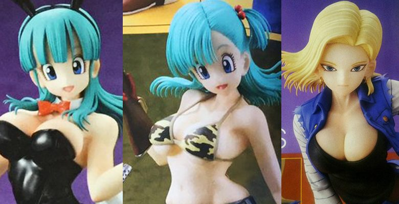 Dragon Ball: Figuras sexys de colección.