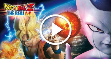 Dragon Ball Z The Real 4D: Tráiler oficial de la nueva atracción de Universal Studios Japan.