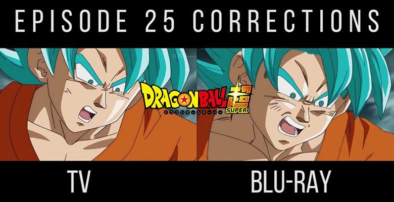 Dragon Ball Super: Correcciones de animación en el episodio 25