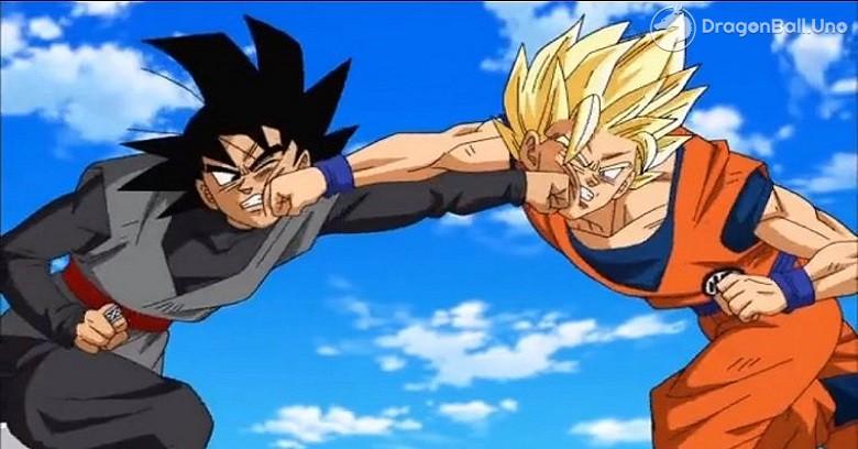 Goku vs Black batalla del futuro
