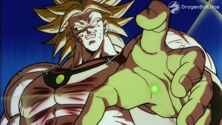 Broly ¡El legendario Super Saiyajin!