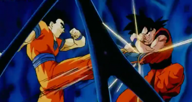 Goku vs Gohan en Dragon Ball Super