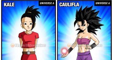 Dragon Ball Super: Kale desaparece de la página de Toei animation y se revela nueva información de Caulifla