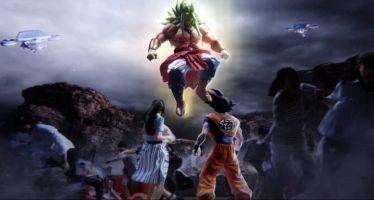 Dragon Ball Z The Real 4-D: Primer Tráiler ¡Gokú vs Broly Dios!