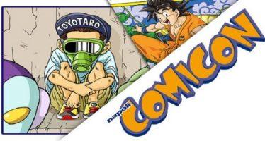 Toyotaro en la Napoli Comic Con