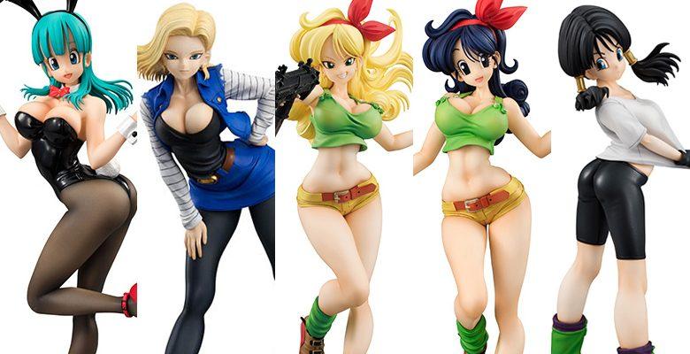 Dragon Ball Gals: ¡Las sexys figuras coleccionables!