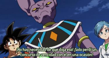 """Dragon Ball Super: Whis: """"En otro universo existe un mortal mucho más fuerte que un dios de la destrucción"""""""