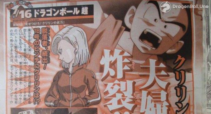 Dragon Ball Super: Título y sinopsis completa del capítulo número 99, ¿El Sacrificio de Krilin?