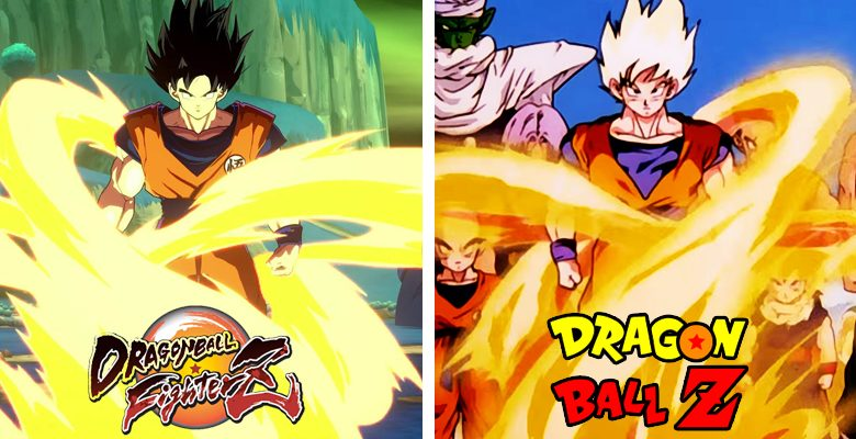 Dragon Ball FighterZ: ¡Referencias al manga y el anime!