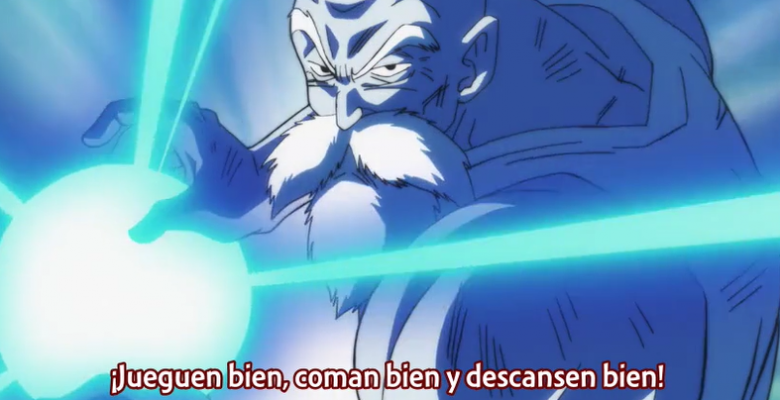 """Dragon Ball Super: La increíble participación del Maestro Roshi en el capítulo 105 """"Un guerrero digno y honorable"""""""