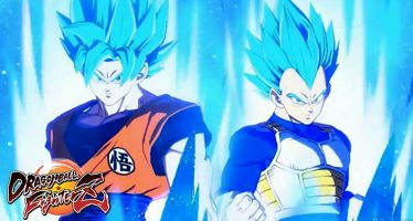 Dragon Ball FighterZ: ¡Nuevo Tráiler de Goku y Vegeta en Super Saiyajin Blue!
