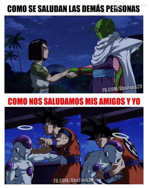 Memes Graciosos De Dragon Ball Super Muy Bueno Youtube