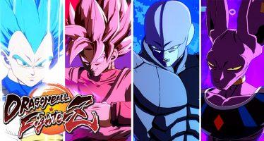 Dragon Ball FighterZ: ¡Tráilers de Presentación de Vegeta SSJ Blue, Goku Black, Hit y Bills!