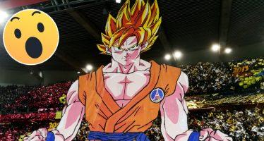 ¡Goku 'Apareció' en el Estadio del Paris Saint Germain en el Clásico contra Marsella!