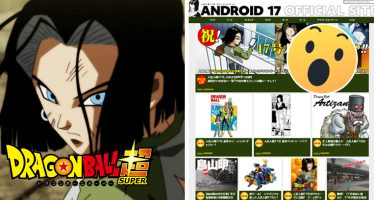 Dragon Ball Super: ¡¡El Androide Nº 17 se Apodera del Sitio Web Oficial!!