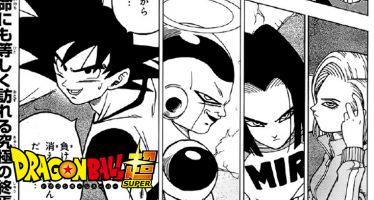 Dragon Ball Super: ¡Primeras Imágenes Filtradas del Manga 34! ¡La Eliminación del Primer Universo!