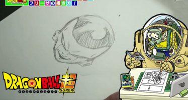 ¡Toyotaro nos Enseña Cómo Dibujar Correctamente a Freezer, durante el programa JUMPolice!