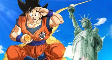 Goku y sus amigos llegan a Norte América