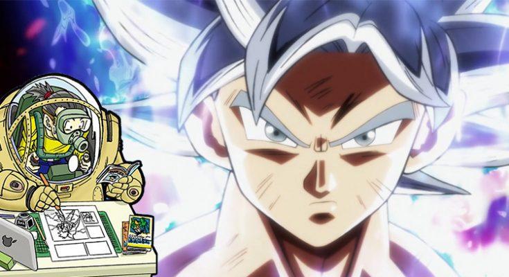 Presentan Por Primera Vez Un Dibujo De Goku Ultra Instinto Hecho Por