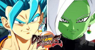 Dragon Ball FighterZ: ¡Mira el Tráiler de Lanzamiento de los Nuevos Personajes! ¡¡Vegetto Blue vs Zamasu Fusionado!!