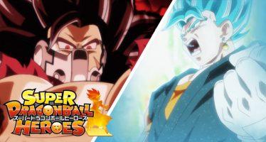 Super Dragon Ball Heroes: ¡¡Revelan el Primer Tráiler Oficial de la Nueva Serie!! ¡¿Kanba vs Vegetto Blue?!
