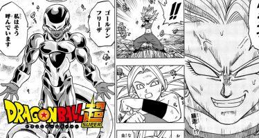 Dragon Ball Super: ¡Primeras Imágenes Filtradas del Manga 37! ¡Golden Freezer vs Caulifla Super Saiyajin! ¡Kale se Descontrola!