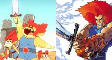Este es el dibujo que levantó la ira de Internet y los fanáticos de Dragon Ball (Goku al estilo Thundercats Roar)