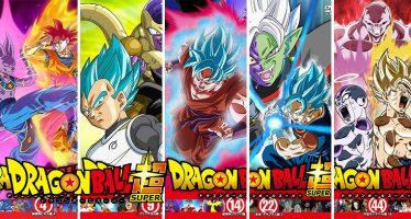 Dragon Ball Super: ¡¡Mira Todas las Portadas para la Edición en DVD de Alquiler de la Serie!!