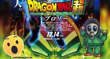 Dragon Ball Super [Película]: ¡¡El Mensaje de Akira Toriyama Acerca del Personaje «Broly» en la Nueva Película!!