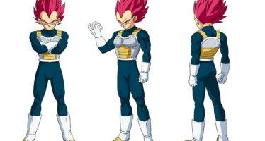 Dragon Ball Super [Broly]: Se revela el diseño oficial para Vegeta SSJ God y un nuevo personaje