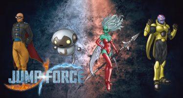 JUMP FORCE: ¡¡Akira Toriyama Diseña Cuatro Nuevos Personajes para el juego Jump Force!!