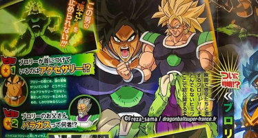 Dragon Ball Super [Broly]: Nueva Scan filtrada para la película de Dragon Ball Super Broly «Goku y Vegeta SSJ God»