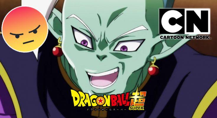 dragon ball super latino nuevo error por parte de cartoon