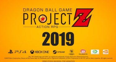 """Primer trailer oficial del nuevo juego """"Dragon Ball Action RPG: Project Z"""""""