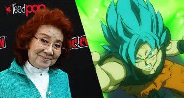 Dragon Ball Super: Rumor: Masako Nozawa la voz oficial de Goku en Japón podría anunciar su retiro