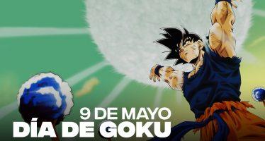 Hoy 9 de mayo se celebra oficialmente el día de Goku